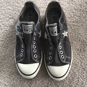 Hardly worn converse One Star's